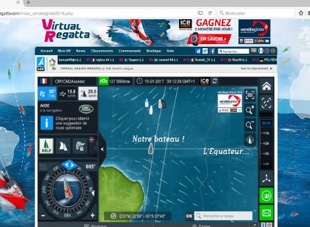 virtual regatta connexion